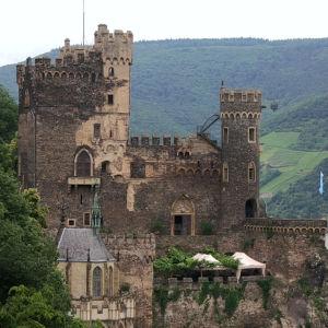 Burg Rhenstein, nära Frankfurt.