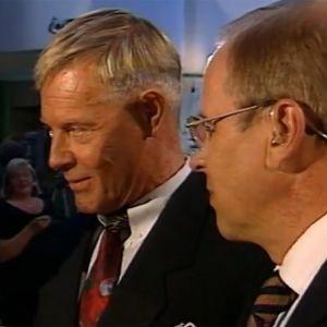 Arvi Lind, Heikki Kahila ja Kari Toivonen vuonna 1999.