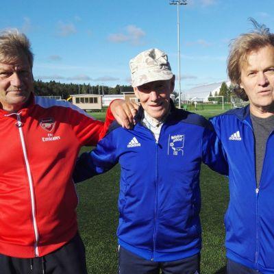 Raimo Metsänen, Erik Österlund ja Jorma Majuri