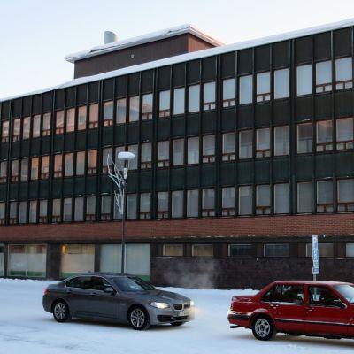 Rovaniemen maalaiskunnan vanha kunnantalo Rovakatu 2:ssa