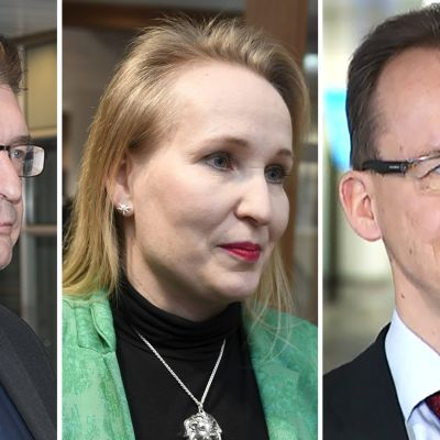 Jorma Malinen, Minna Helle ja Jarkko Ruohoniemi