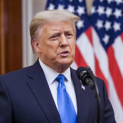 Trumpin jäähyväispuhe