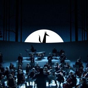 Kuva musiikkianimaatiosta Pekka ja susi