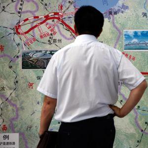 Luotijunalinja pekingin ja shanghain välillä