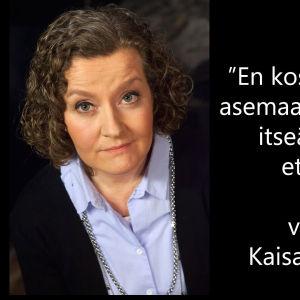 Vankilanjohtaja Kaisa Tammi-Moilanen vieraana tv-ohjelmassa Flinkkilä & Tastula.
