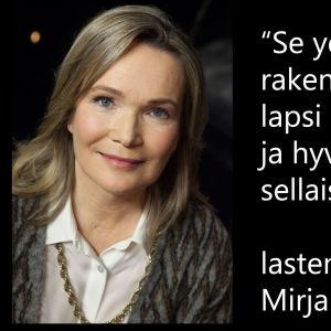 Psykoterapeutti Mirjam Kalland vieraana tv-ohjelmassa Flinkkilä & Tastula.