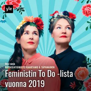 Kuvassa Naisasiatoimiston toimittajat Outi Kaartamo ja Jonna Tapanainen.