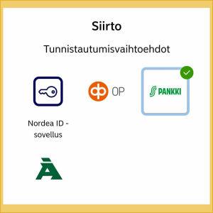 Kuvakaappauksia MobilePay- ja Pivo-sovellusten asennuksesta: Sovellukset pyytävät erilaisia käyttöoikeuksia.
