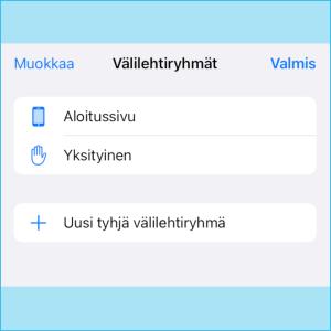 Kuvakaappaus Firefox-selaimesta: Yksityisen selauksen tilan merkkinä on kilpi-kuvake.