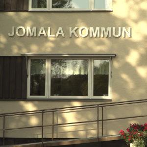 Kommunkontoret i Jomala.