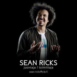 Perjantain juontaja Sean Ricks.