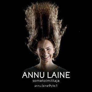 Perjantain sometoimittaja Annu Laine