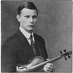 Viulutaiteilija Onni Suhonen Suomen Kuvalehdessä 1927.