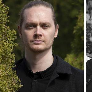 Runoilija Matti Kangaskoski ja kääntäjä Leevi Lehto