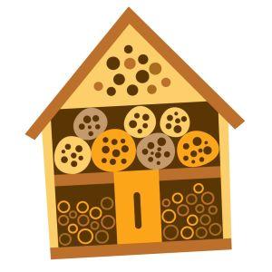 Tellustajat: hyönteishotelli