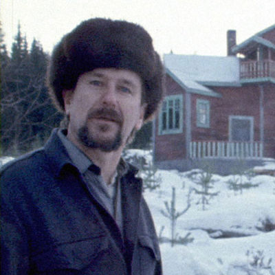 Ohjaaja Mikko Niskanen vuonna 1974 kuvattuna.