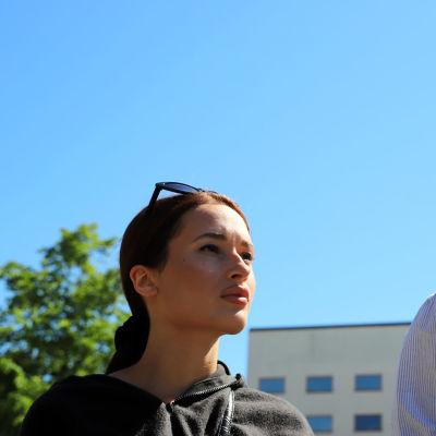 Yasmina Limam ja Antonio Teca ovat vaasalaisia nuoria, jotka järjestävät BLM-mielenilmauksen 11.6.2020