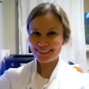 Lääkäri Heidi Granat.
