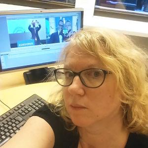 Ida Fellman, selfie, 2016