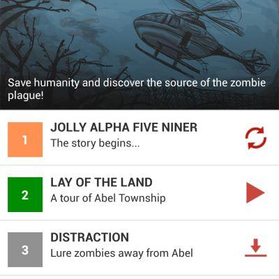 Mobilapplikationen Zombies, Run! använder en zombiehistoria för att motivera till löpträning