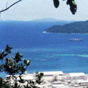 Seychellien rantaa