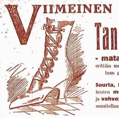 Tango-kenkä.