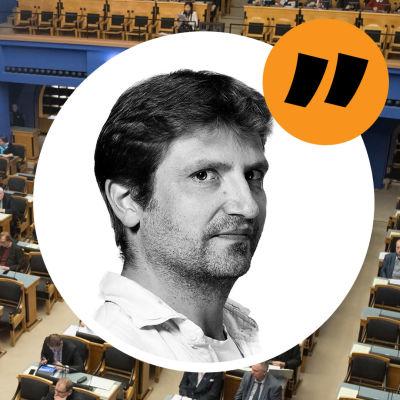 Kommentarsbild på Gustaf Antell.