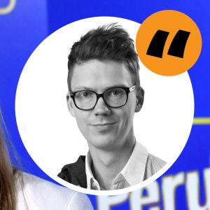 Jenna Simula med en kommentarsstämpel av Magnus Swanljung på