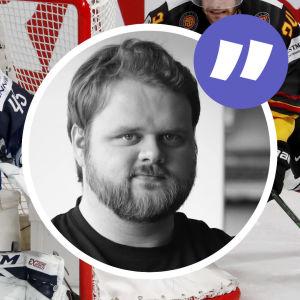Jussi Olkinuora i farten.