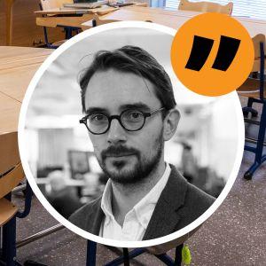 Bildsättningsbild för Johan Ekmans kommentar om Nordiska skolan.