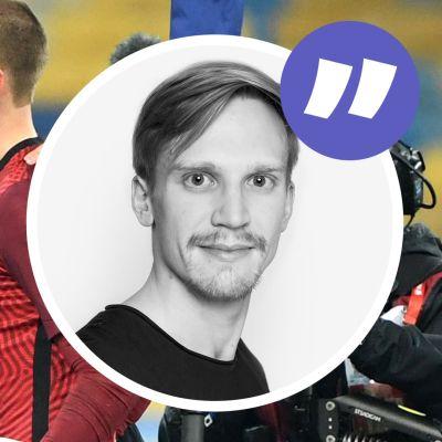 Markku Kanerva och Jesse Joronen efter slutsignal.