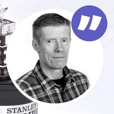 Gary Bettman håller tal före priset till NHL:s mest värdefulla spelare delas ut.
