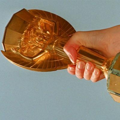 Jules Rimet -pokaali, joka luovutettiin vuoden 1970 MM-kisoihin asti jalkapallon maailmanmestareille.