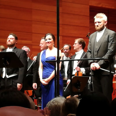 Solistit kiitoksissa Weimarin oopperassa 20. elokuuta 2018