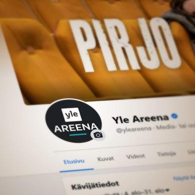 Kuva Yle Areenan Facebook-sivusta, jossa on Pirjo-sarjan kuva.