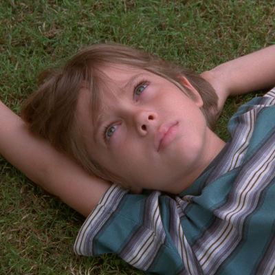 Ellar Coltrane som pojken i filmen Boyhood.