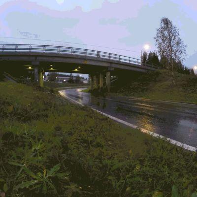 Aila-myrsky Kajaanissa.