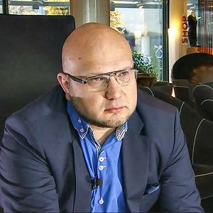 Nuorisosäätiös ordförande Perttu Nousiainen