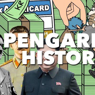 Pengarnas historia från byteshandel till bits och bytes.