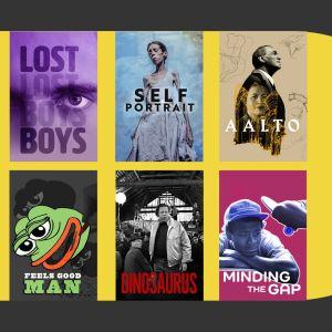 Dokkarifestivaalin 2021 katsotuimpia: Lost Boys, Self Portrait, Aalto, Feels Good Man, Dinosaurus, Minding The Gap