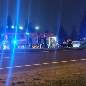 Torniossa tapahtunut Lukiokadulla liikenneonnettomuus keskiviikko-torstai välisenä keskiyönä.
