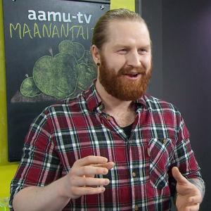 I love muovi - lajittelu on ratkaisu. Tommi Manninen Aamu-tv:ssä.