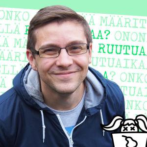 Kuvassa tutkija Mikko Meriläinen, joka puhuu artikkelissa ruutuajasta