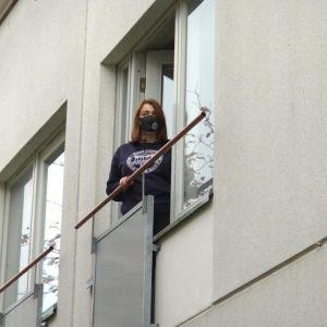 Opiskelija Ida Kettuoja on karanteenissa Vaasassa