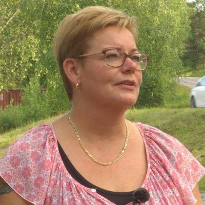 Anette Högström vid Täktervägen
