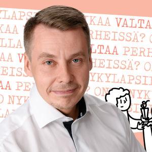 Kuvassa lapsiasiainvaltuutettu Tuomas Kurttila
