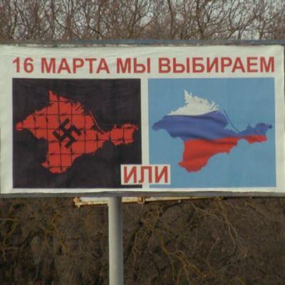 """Tienvarsimainos Krimillä: """"16. päivä päätämme"""""""