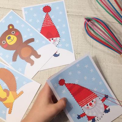 Pikku Kakkosen joulun tulostettavat ompelukuvat