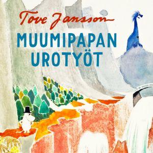 Tove Janssonin kuvitusta Muumipapan urotyöt -tarinaan.