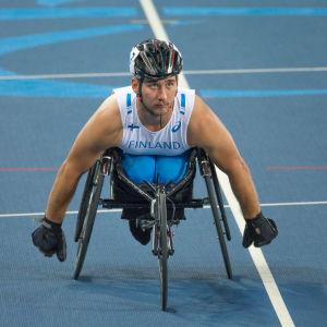 Henry Manni vann brons i paralympiska spelen i Rio de Janeiro 2016.